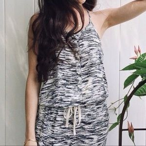 Lou & Grey | Space Die Racer Back Jumpsuit Medium